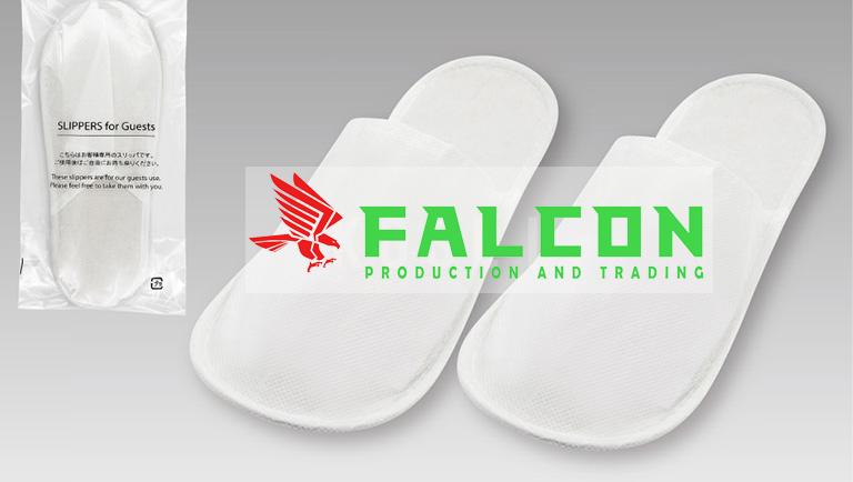 Dép Falcon màu trắng cao cấp